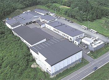 恵山工場外観